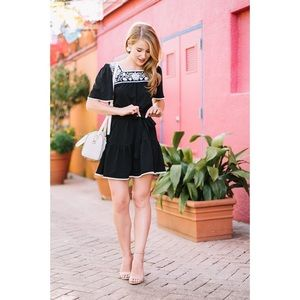 Kate Spade Broome Embroidered Dress